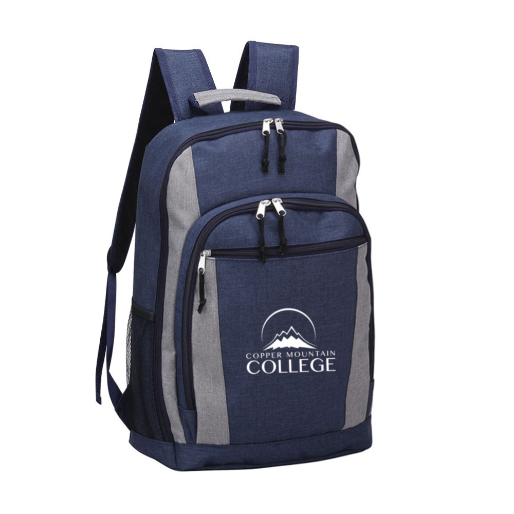 View larger image of Add Your Logo: Two-tone Backpack