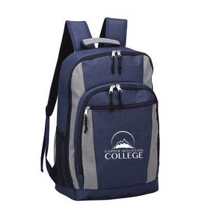 Add Your Logo: Two-tone Backpack