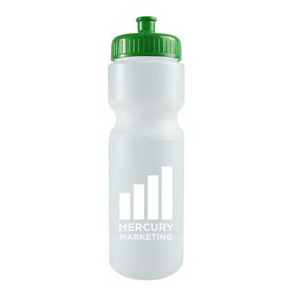 Add Your Logo: Cycle Through Water Bottle