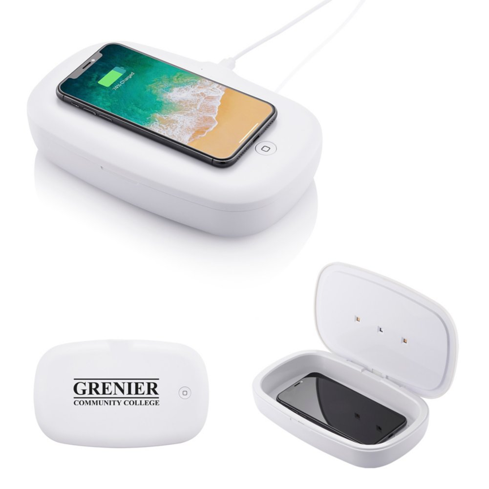 View larger image of Add Your Logo: Phone Sanitizer and Charger