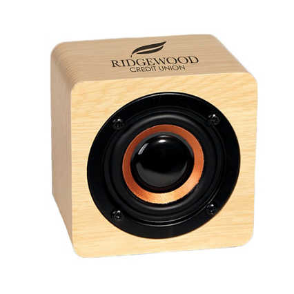 Add Your Logo: Mini Cube Speaker