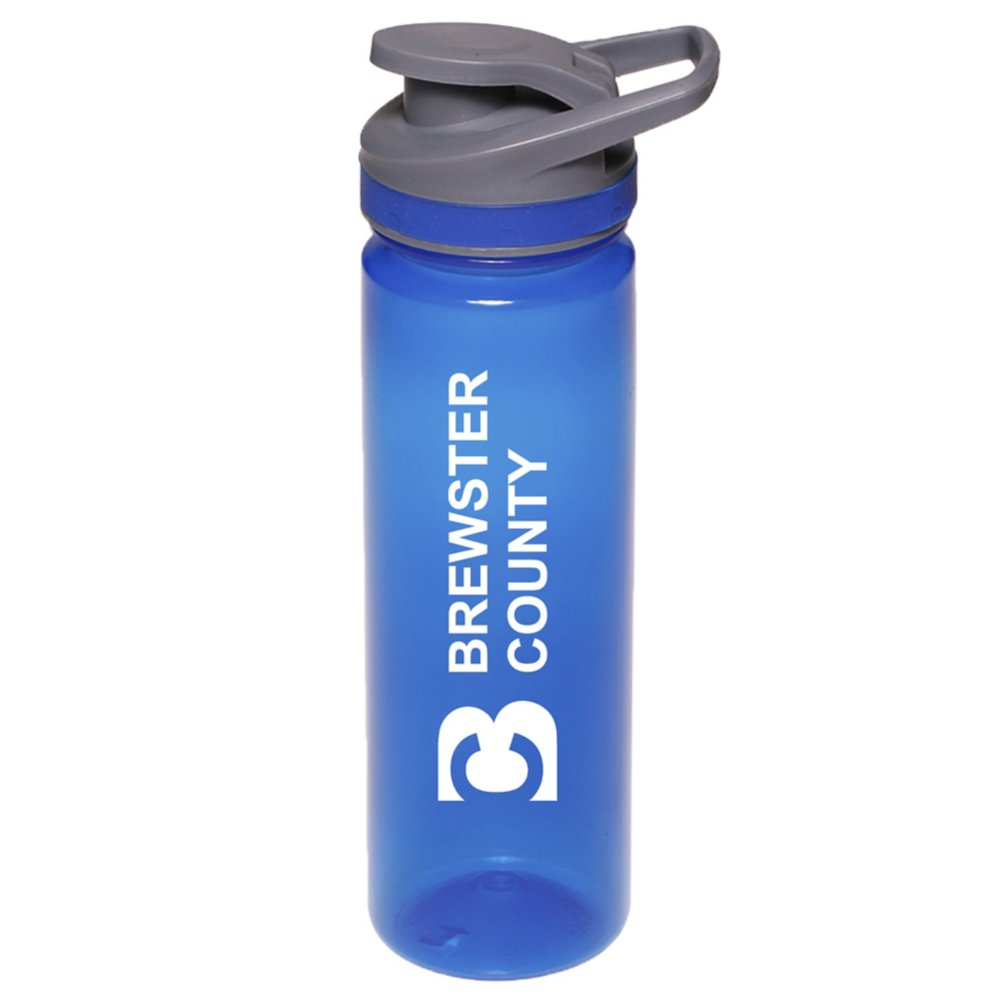 View larger image of Add Your Logo: 22 oz. Flip Top Sports Bottle