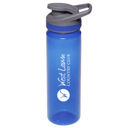 Add Your Logo: 22 oz. Flip Top Sports Bottle