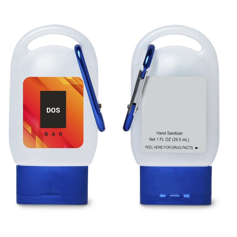 View larger image of Add Your Logo: Hand Sanitizer Carabiner