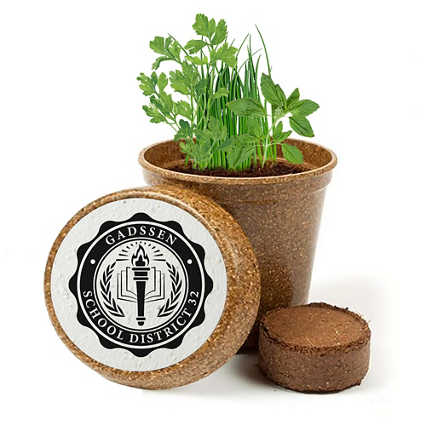 Add Your Logo: Plant Your Praise Biodegradable Kit