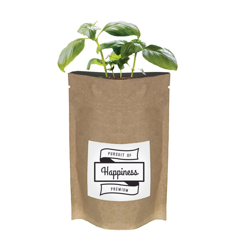 View larger image of Add Your Logo:  No Slouch Plant Pouch