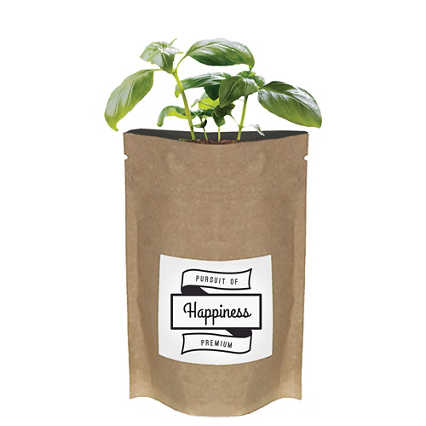 Add Your Logo:  No Slouch Plant Pouch