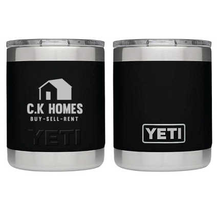 Customized Yeti - 10 oz Lowball