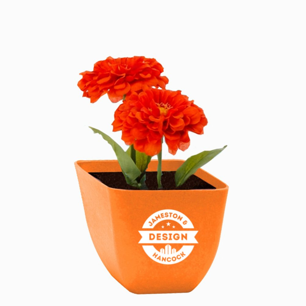 View larger image of Add Your Logo: Let it Grow Flower Kit