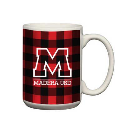Add Your Logo: Buffalo Check Mug