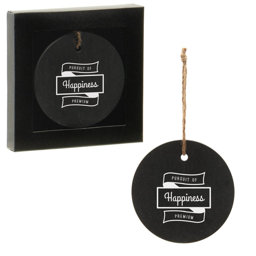View larger image of Add Your Logo: Slate Ornament