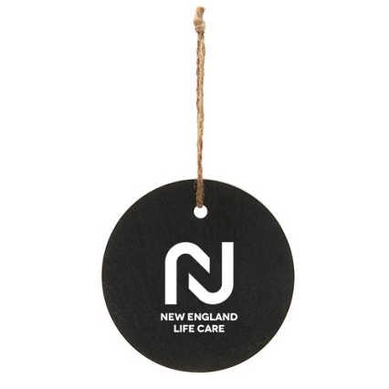 Add Your Logo: Slate Ornament