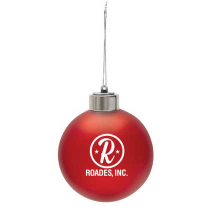 Add Your Logo: Light-up Ornament