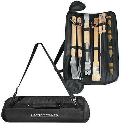 Add Your Logo: Ultimate Outdoor Grill Set