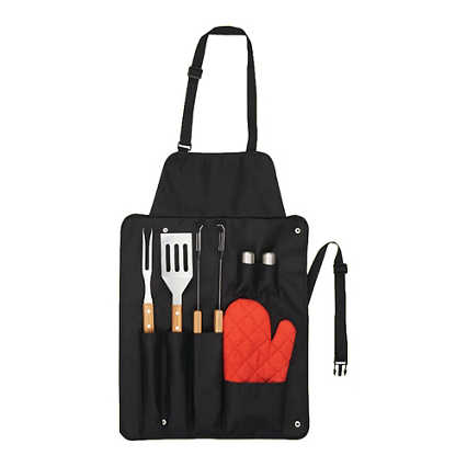 Add Your Logo: Grill Master Gift Set