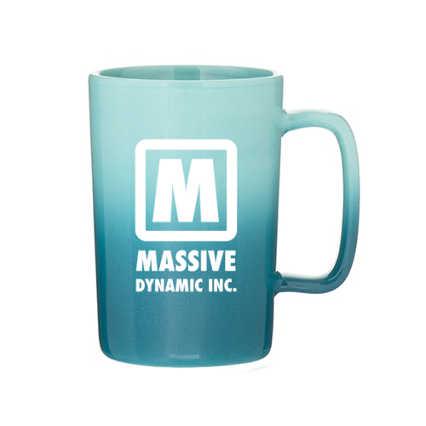 Add Your Logo: Ombre Ceramic Mug