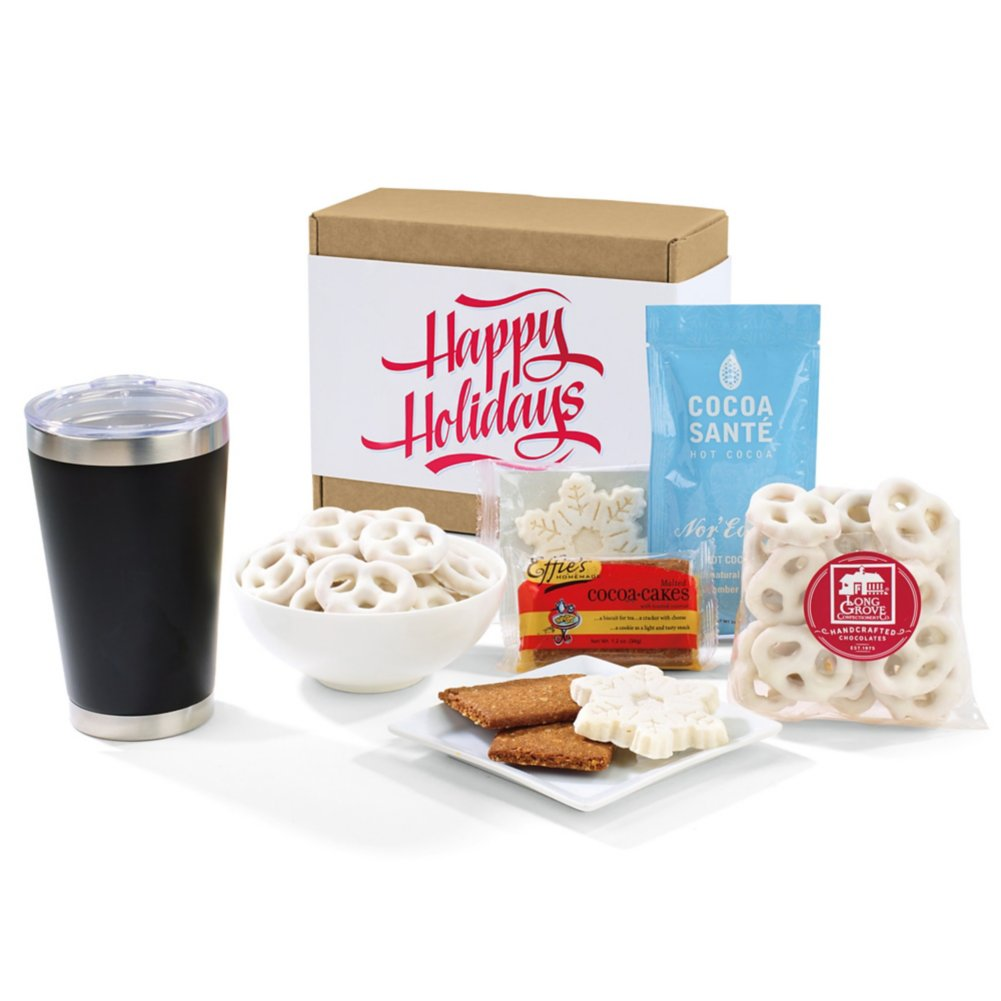 View larger image of Add Your Logo: Gourmet Holiday Gift Set