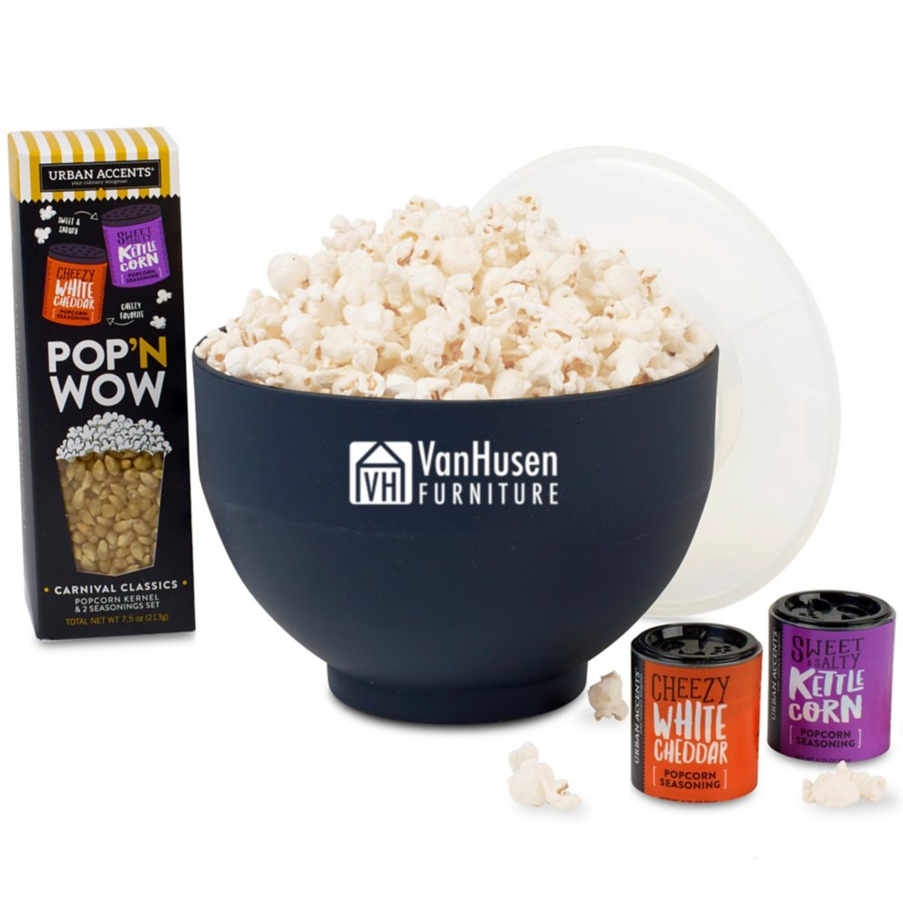 View larger image of Add Your Logo: Poppin Groumet Gift Set