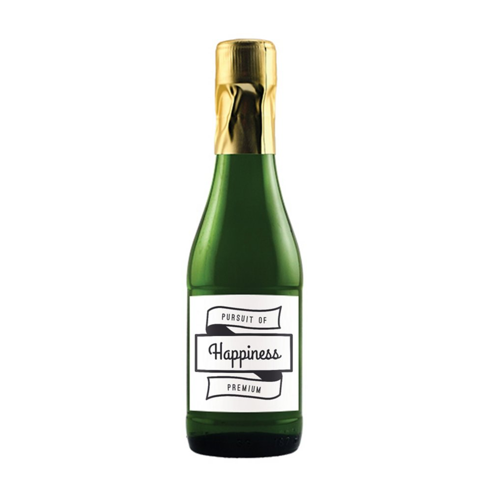 View larger image of Add Your Logo: Poppin Bottles Sparkling Grape Juice