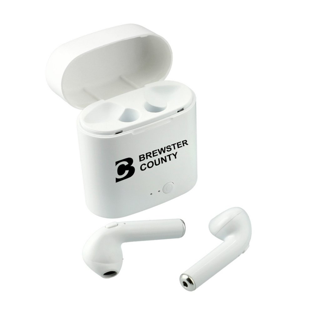 View larger image of Add Your Logo: Wireless Earbuds