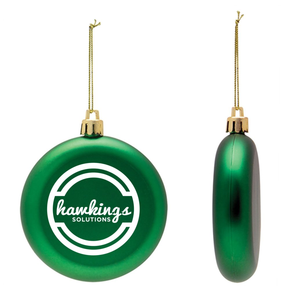View larger image of Add Your Logo: Shatterproof Classic Ornament