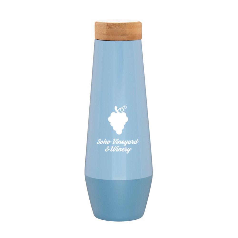 View larger image of Add Your Logo: Modern Slender Bottle