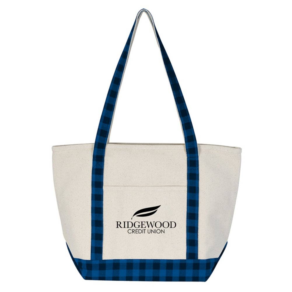View larger image of Add Your Logo: Woodsy Tote Bag