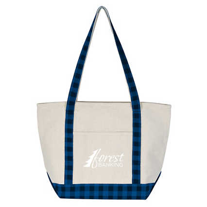 Add Your Logo: Woodsy Tote Bag