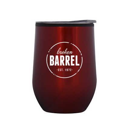 Add Your Logo: Joyful Wine Mugs