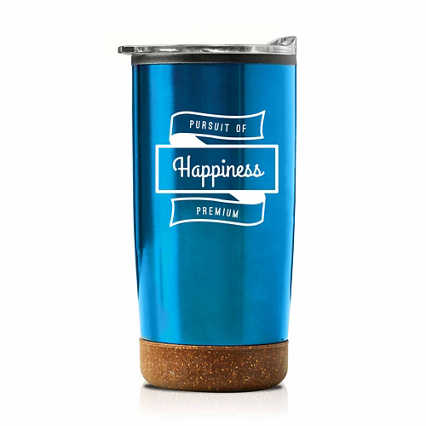 Add Your Logo: Original Cork Travel Mug