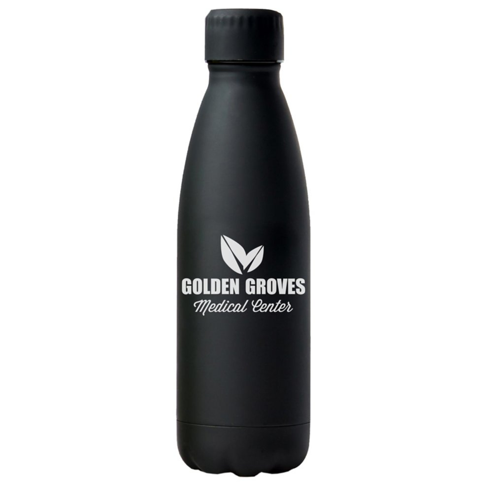 View larger image of Add Your Logo: Soft Board Surfer Water Bottle