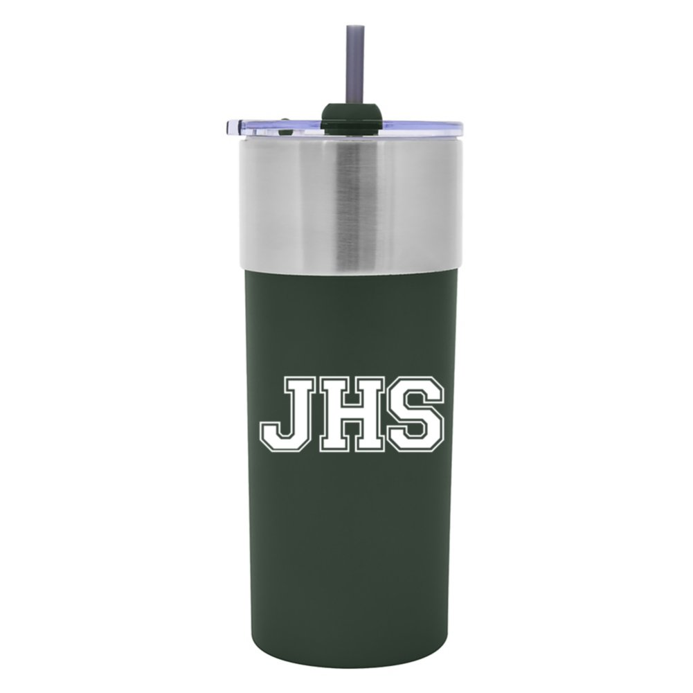 View larger image of Add Your Logo: 25 oz. Lakeside Sips Tumbler