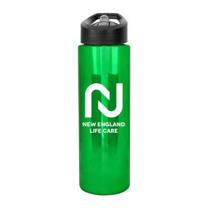 Add Your Logo: 24 oz. Metallic Bottle