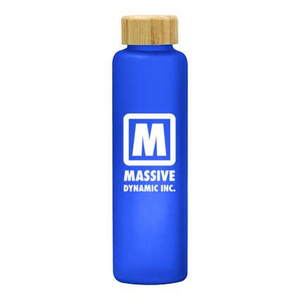Add Your Logo: Bamboozle Glass Bottle
