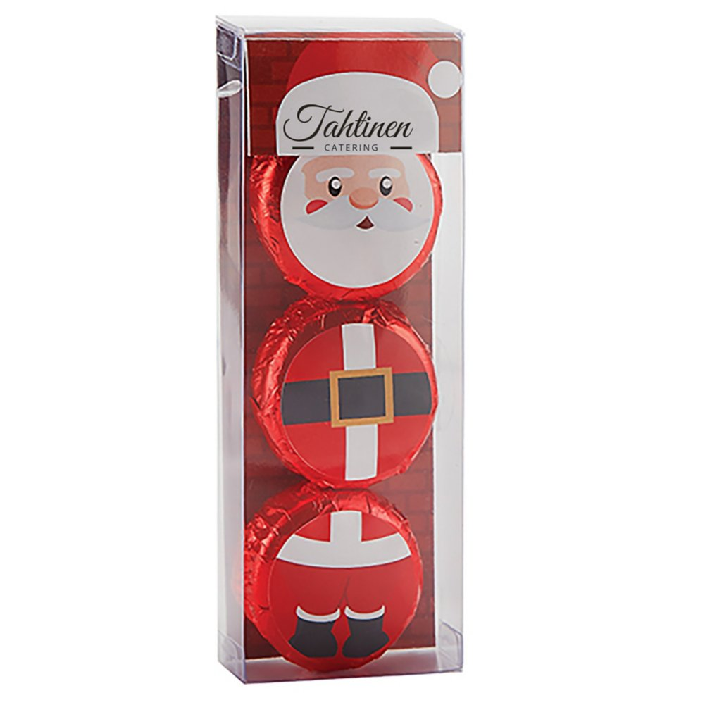 View larger image of Add Your Logo: Holiday Character Oreo Gift Set