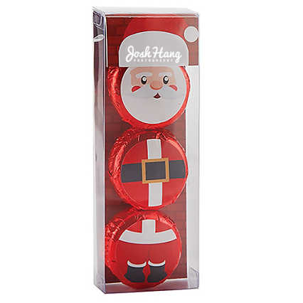 Add Your Logo: Holiday Character Oreo Gift Set