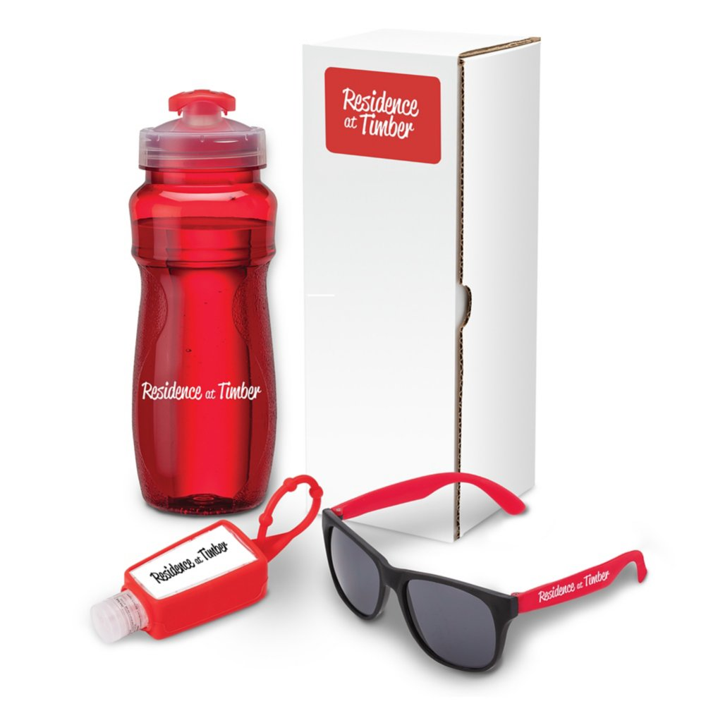 View larger image of Add Your Logo: Wellness Gift Set