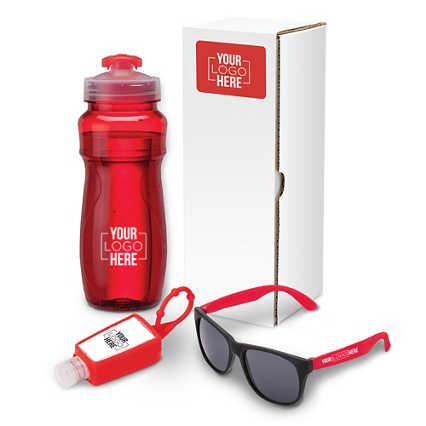Add Your Logo: Wellness Gift Set