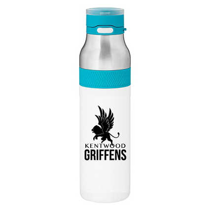 Add Your Logo: Vivid Stainless Steel Water Bottle