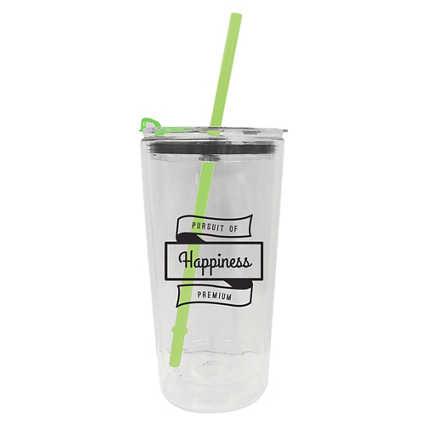 Add Your Logo: 20 oz. Glass Tumbler