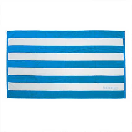 Add Your Logo: Cabana Stripe Beach  Towel