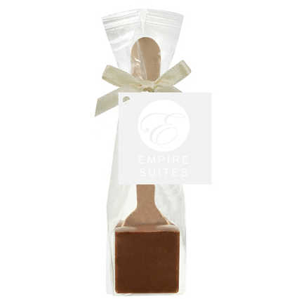Add Your Logo: Hot Chocolate on a Spoon