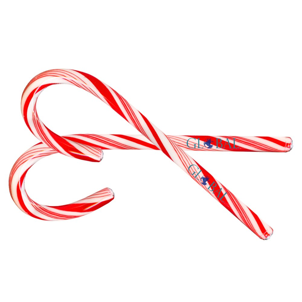 View larger image of Add Your Logo: Peppermint Candy Cane