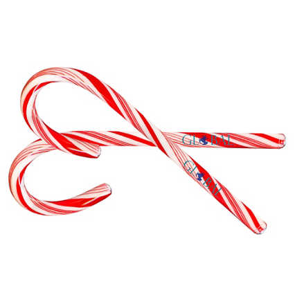 Add Your Logo: Peppermint Candy Cane