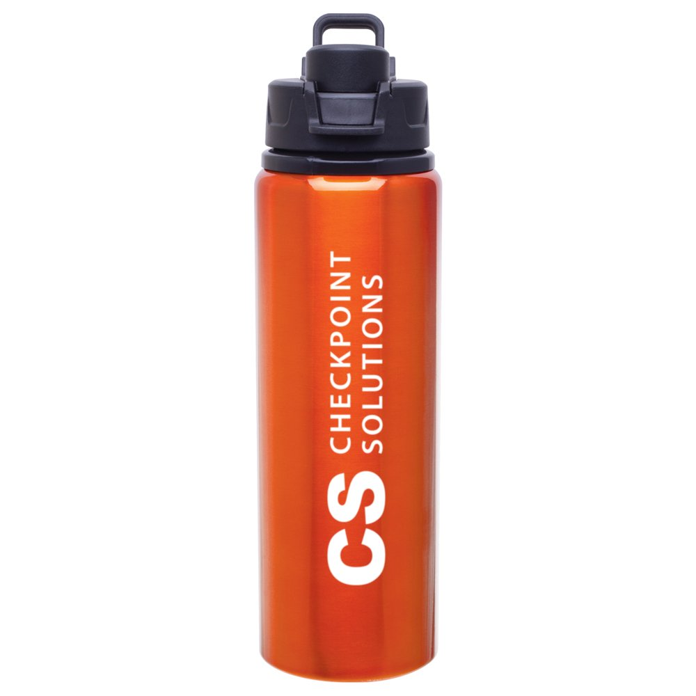 View larger image of Add Your Logo: Vibrant 28 oz. Water Bottle