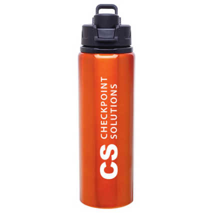 Add Your Logo: Vibrant 28 oz. Water Bottle
