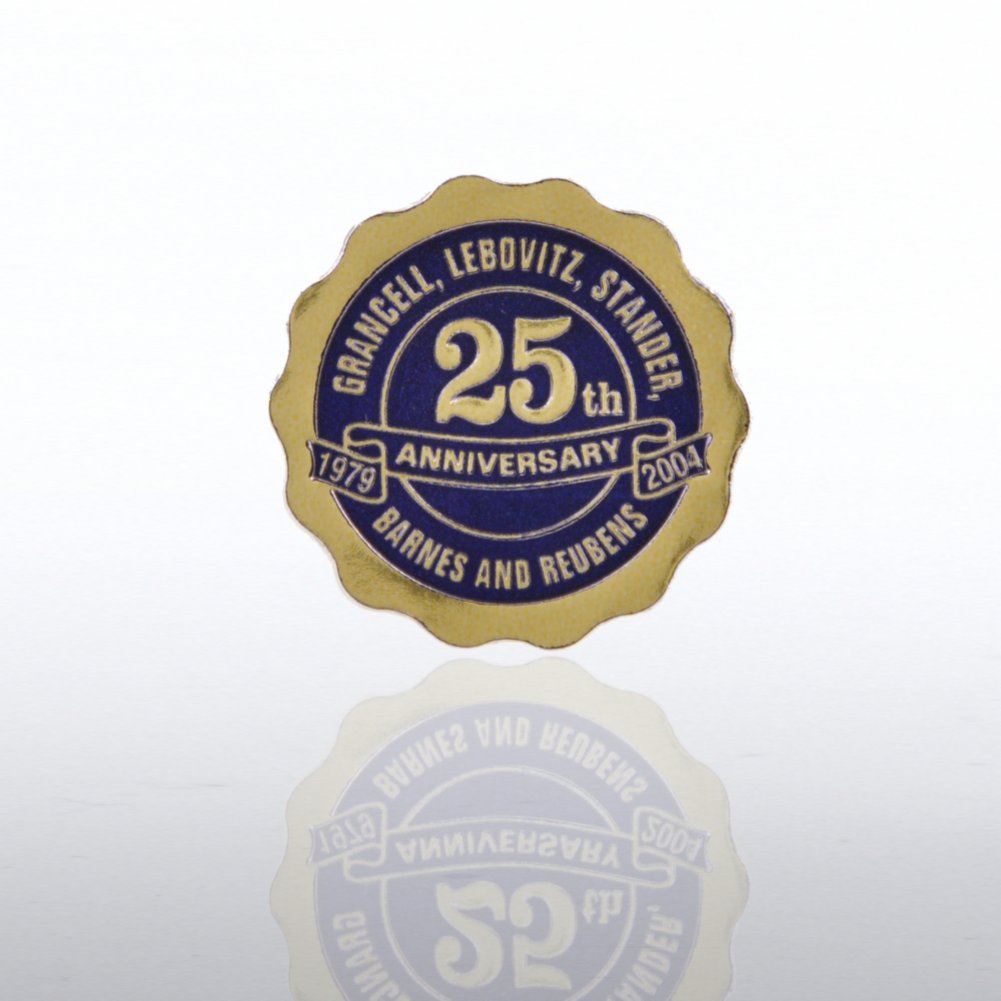 View larger image of Custom Anniversary Seal - Scallop