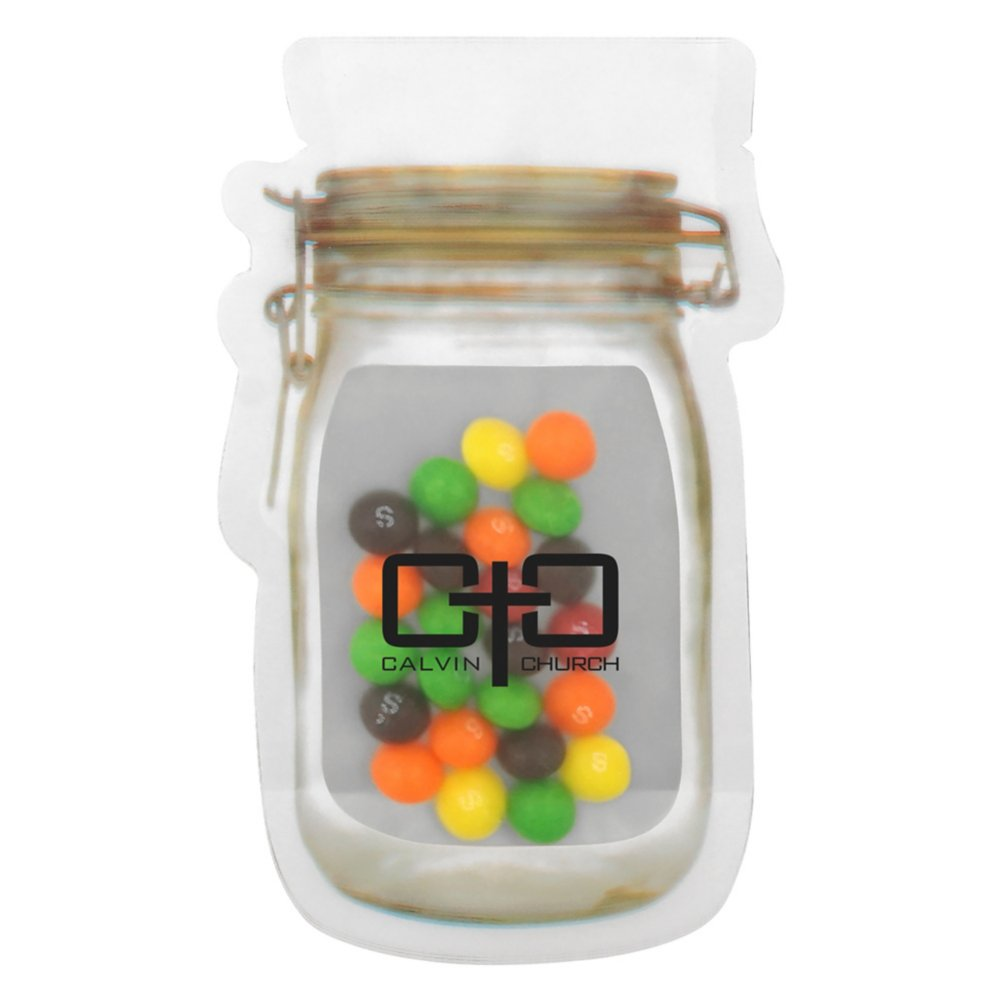 View larger image of Add Your Logo: Reuasble Mason Candy Bag