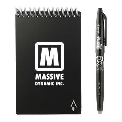 Add Your Logo: Rocketbook Mini Notebook Set