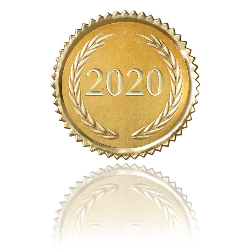View larger image of Certificate Seal - 2020 Laurels